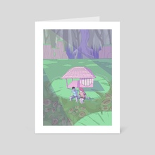 Little Place - Art Card by mae Mellona