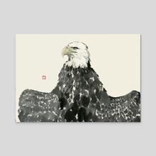 Eagle - 74 - Acrylic by River Han