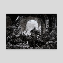 Dark Souls VS For Honor - Canvas by Daniel Eichinger
