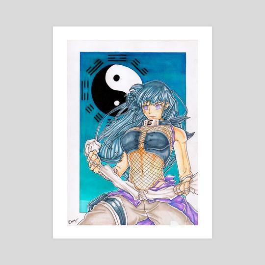 Hinata Hyuga by Damien
