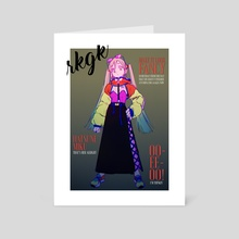 miss hatsune miku for rkgk - Art Card by irarugii