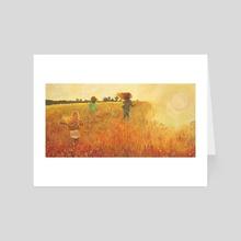 Fields of Gold - Art Card by Normandie Luscher