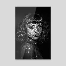 Cosmic Alina - Acrylic by David Miller