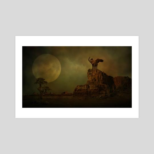 Moonlight by Geraldas Galinauskas