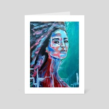 YOU ARE NOT THE PHOTO - Art Card by alexhasg2g