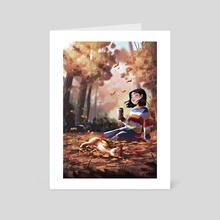 Sweater Season - Art Card by Yaoyao Ma Van As