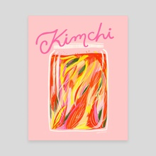 Kimchi - Canvas by Erin Wallace