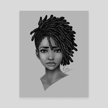 Locs Styled - Canvas by Shakira Rivers