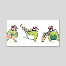 Frog band - Acrylic by finch