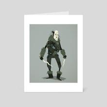 Mask - Art Card by Florian Biege