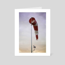 Calm sky - Art Card by Hampus Carlson
