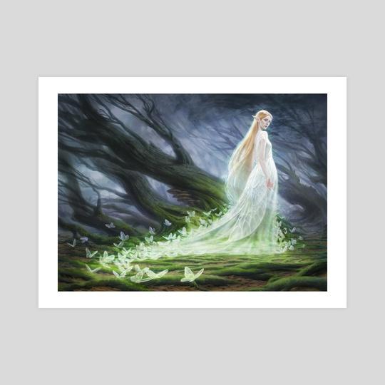 MtG - Elvish Spirit Guide by Anna Steinbauer
