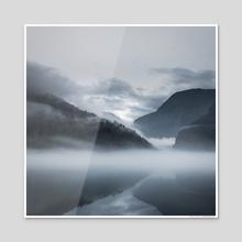 Genesis - Acrylic by Stefan Isaksson