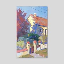 Tout - Acrylic by Shinsyl