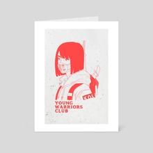 Young Warriors Club - Art Card by Alyssa Nicolas