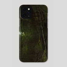Mysterious forest - Phone Case by Olga Dyakina
