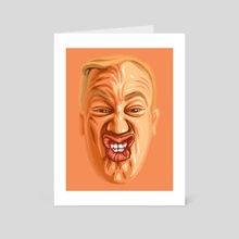 Face Geometry - Art Card by Demetrios Liollio