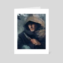 Rogue - Art Card by Sam Gushue