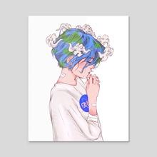 Ligaia - Acrylic by Dennisean