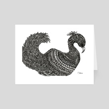 Black Swan - Art Card by Jacque Tiongco
