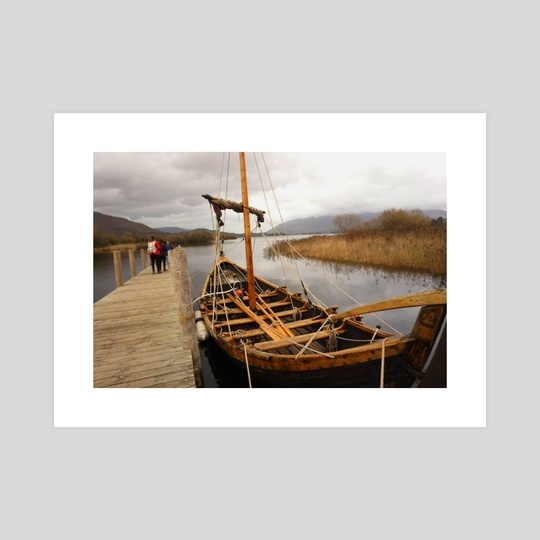 sailboat by Bekka