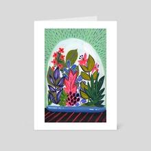 Terrarium II - Art Card by Kim Sielbeck