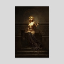 LUCIFER - Canvas by Bastien Lecouffe Deharme