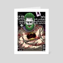 Bearded Joker - Art Card by Ephrem Rokk