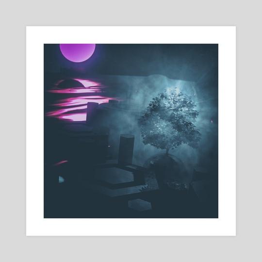 tree shrine by drewmadestuff