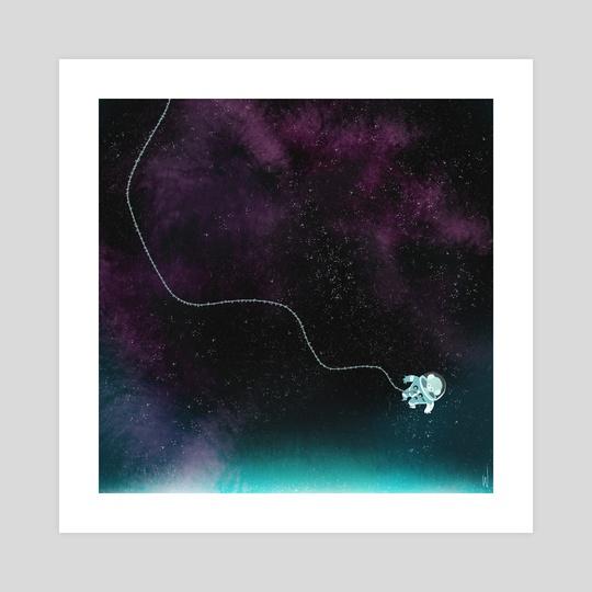 Space Melody by Carolyn Gan