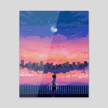 re:play - Acrylic by Momo