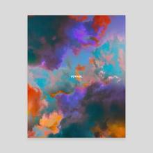 Voyage - Canvas by Dorian Legret
