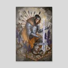 King Arthur - Acrylic by A J  Ramsey