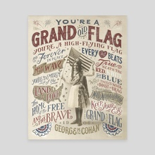 You're a Grand Old Flag - Canvas by The Union Archive