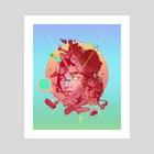 summer - Art Print by azimet ahmet