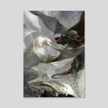 World's End - Acrylic by Cynthia Sheppard