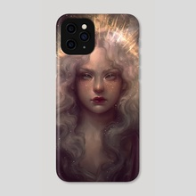 Crowned - Phone Case by Lourdes Saraiva