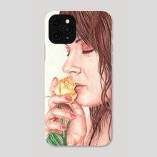 Such a sweet perfume - Phone Case by Aurelia Chaintreuil