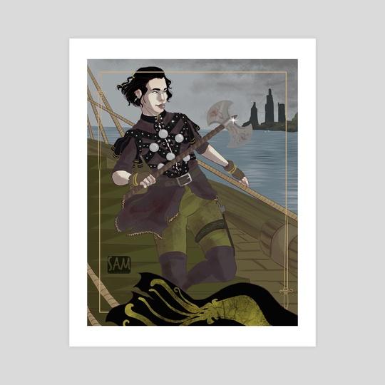 Asha Greyjoy by Sam_Artworks