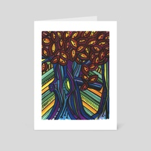 Fish eye tree  - Art Card by ThEclecticFunk