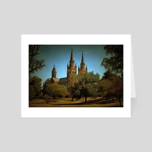 Cathedral - Art Card by Alan Carson