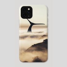 Fogwhale - Phone Case by Justin Peters