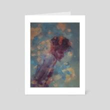 Sentimental Noir - Art Card by Damir Martic