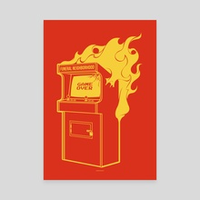 Arcade Fire - Canvas by Draco Imagem
