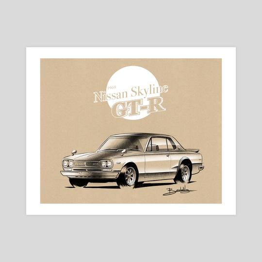 1969 Nissan Skyline GTR by Brandon Voong