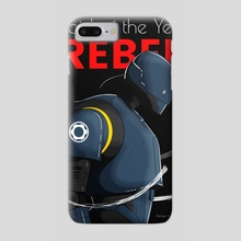 Rebel | Droid of The Year Cover - Phone Case by Keenan Dailey