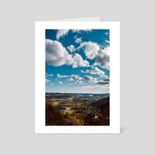Lyngdal - Art Card by Eirik Havre