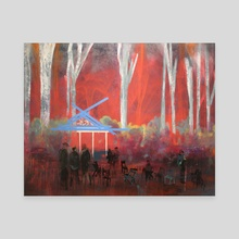 Bohemian Grove - Canvas by richard glenn