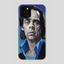 Nick Cave - Phone Case by Svetlana Kalinicheva
