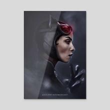 Catwoman 2 - Acrylic by Valentin Romero